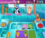 Barbie ice cream parlor online